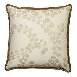 Mystic Home - Splendore Copper - Metallic Euro Sham by Mystic Home - The Splendore Copper, by Mystic Home