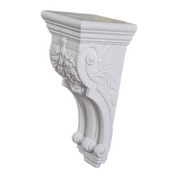 uDecor - CB-1926 Corbel - These corbels are for decorative use only. These should not be used for any structural support.