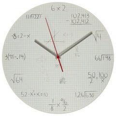 contemporary clocks by ModCloth
