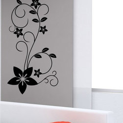 StickONmania - Plant Design #29 Sticker - A cool vinyl decal wall art decoration for your home  Decorate your home with original vinyl decals made to order in our shop located in the USA. We only use the best equipment and materials to guarantee the everlasting quality of each vinyl sticker. Our original wall art design stickers are easy to apply on most flat surfaces, including slightly textured walls, windows, mirrors, or any smooth surface. Some wall decals may come in multiple pieces due to the size of the design, different sizes of most of our vinyl stickers are available, please message us for a quote. Interior wall decor stickers come with a MATTE finish that is easier to remove from painted surfaces but Exterior stickers for cars,  bathrooms and refrigerators come with a stickier GLOSSY finish that can also be used for exterior purposes. We DO NOT recommend using glossy finish stickers on walls. All of our Vinyl wall decals are removable but not re-positionable, simply peel and stick, no glue or chemicals needed. Our decals always come with instructions and if you order from Houzz we will always add a small thank you gift.