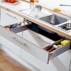 Great kitchen sink utensil drawer