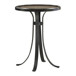 Ambella Home - New Ambella Home Accent Table Satin Black - Product Details