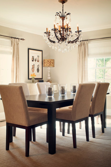 Traditional Dining Room by Stephanie Swander Interiors
