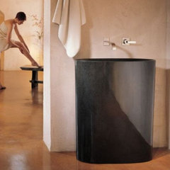 contemporary bathroom sinks by Stone Forest