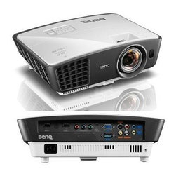 "BENQ - BENQ W770ST Short-Throw 720p Home Theater Projector - � 2,500 ANSI lumens ;� 720p resolution ;� 13,000:1 contrast ratio ;� 16:9 aspect ratio ;� Blu-ray(TM) full HD 3D support ;� 2 HDMI(R) inputs, computer in, composite video in, S-video in, audio in, audio out & microphone in ;� 10W speaker ;� SmartEco(R) technology extends lamp life ;� Weight: 5.95lbs ;� Dim: 4.5""H x 12.7""W x 10""D ;� Includes remote ;� 1-year warranty"