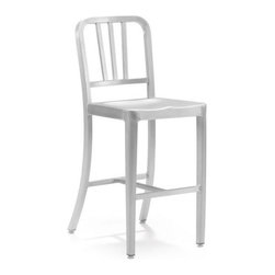 Zuo Modern - Zuo Bistro Counter Chair in Brushed Aluminum - Bistro Counter Chair in Brushed Aluminum by Zuo Modern This chair is made from light weight aluminum with a brushed finish. Counter Chair (1)