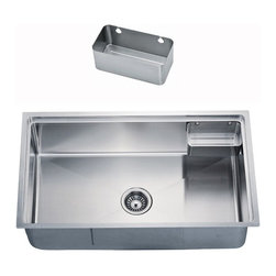 Dawn Kitchen & Bath - Dawn BK710 Stainless Steel Attatchable Basket For SRU311710 - BK710 Sink Basket Direct Sinks.com: Kitchen and Bathroom Sinks, Vessels, Faucets, Vanitys, and more! Stainless Steel Undermounts and Topmounts at Great Prices.