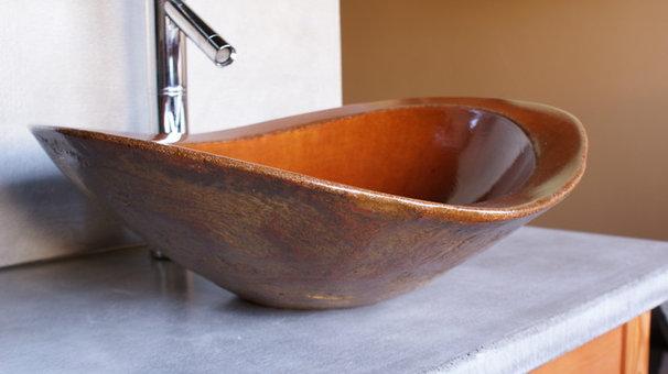 Eclectic Bathroom Sinks by BDWG Concrete Studio