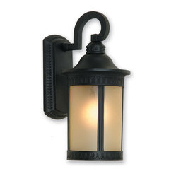 Artcraft Lighting AC8351BK Michigan Black Outdoor Wall Sconce