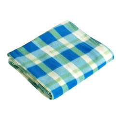 "Blancho Bedding - [Trendy Plaids - Blue/Green/Cream] Soft Coral Fleece Throw Blanket (59""-74.8"") - The Coral Fleece Throw Blanket measures 59 by 74.8 inches. Whether you are adding the final touch to your bedroom or rec-room, these patterns will add a little whimsy to your decor. Machine wash and tumble dry for easy care. Will look and feel as good as new after multiple washings! This blanket adds a decorative touch to your decor at an exceptional value. Comfort, warmth and stylish designs. This throw blanket will make a fun additional to any room and are beautiful draped over a sofa, chair, bottom of your bed and handy to grab and snuggle up in when there is a chill in the air. They are the perfect gift for any occasion!"