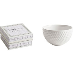 Rosanna - Rosanna Farmhouse Pantry Large Hobnail Bowl -