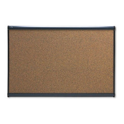 Quartet - Quartet 36 x 24 in. Cork Prestige Bulletin Board - QRTB243G - Shop for Bulletin Boards from Hayneedle.com! The Quartet 30 x 18 in. Cork Prestige Bulletin Board can be used to pin-up important announcements and notifications which makes it ideal for use around school or office corridors. Its self-healing cork surface can hide the pinholes while also preventing it from crumbling or fading. This made-in-the-USA board can be mounted on fabric dry or cubicle walls because of its flexible mounting system. Moreover its dense fiberboard backing reduces moisture and also prevents warping.About United StationersDedicated to making life in the office more organized efficient and easier United Stationers offers a wide variety of storage and organizational solutions for any business setting. With premium products specifically designed with the modern office in mind we're certain you will find the solution you are looking for.From rolling file carts to stationary wall files every product in the United Stations line is designed with one simple goal: to improve office efficiency. In turn you will find increased productivity happier more organized employees and an office setting that simply runs better with the ultimate goal of increasing bottom line profits.