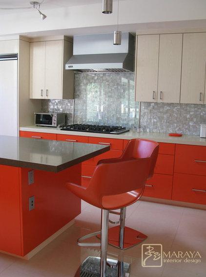 Contemporary Kitchen by Maraya Interior Design