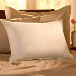 Pacific Coast - Restful Nights Egyptian Cotton Medium Density Synthetic Pillow Multicolor - 1416 - Shop for Pillows from Hayneedle.com! You may find yourself spending more quality time in bed when you have the Restful Nights Egyptian Cotton Medium Density Synthetic Pillow. Made of 100% Egyptian cotton and filled with specially conjugated spiral-spun fiber this premium 300 thread count pillow is the ultimate in nighttime luxury. The excellent head and neck support ensure a great night's rest so you'll wake feeling refreshed. Available in a variety of sizes.