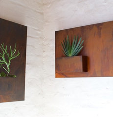 modern outdoor planters by Potted