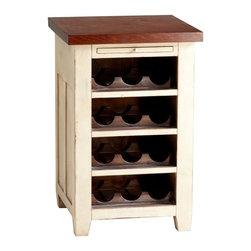 Cyan Design - Cyan Design Winsome Wine Cabinet in White - Winsome Wine Cabinet in White