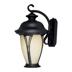 "Designers Fountain - Designers Fountain Westchester-ES Outdoor Wall Mount Light Fixture in Bronze - Shown in picture: 11"" Energy Star Wall Lantern in Bronze finish"