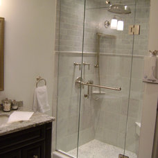Modern Showers by Oasis Shower Doors