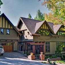 Craftsman Exterior by RR Chandler Design Build Renovate