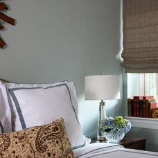 Eclectic Bedroom by Kathryn Ivey Interiors
