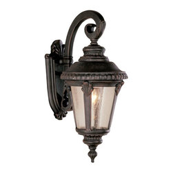Trans Globe Lighting - Bel Air Saddle Rock Outdoor Wall Light - 19H in. - 5043 RT - Shop for Wall Mounted from Hayneedle.com! Brighten up the outdoors light up the night and welcome guests to your front door with the Bel Air Saddle Rock Outdoor Wall Light - 19H in. This outdoor-friendly fixture has a clean-lined design and simple durable construction. Cast aluminum is coated in your choice of finishes to create the perfect look for your dwelling. This light measures 8L x 19H inches with a 13.5-inch extension from the wall. It requires one 100-watt medium base bulb (not included).About Bel Air Lighting Inc.Born from the hopes and dreams of the Haber and Ziv families in 1986 Bel Air Lighting offers one of the most comprehensive and stylish collections of residential lighting in the world. This family-owned company based in North Hollywood Calif. is marked by personal involvement with a wide variety of products available at the lowest prices. From traditional to ultra-contemporary in style Bel Air has just the right light for you.