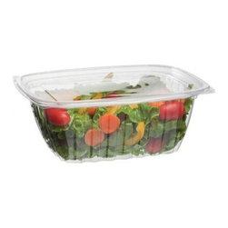 Eco-products 32 Oz Rectangular Deli Container - Case Of 200 - 32 oz. Rectangular Deli Container w/Lid