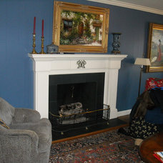 Traditional Fireplaces by Marrs Trimworks