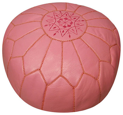 mediterranean ottomans and cubes by Overstock