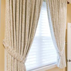 Custom Window Treatments by Heather Rabold at Sh -