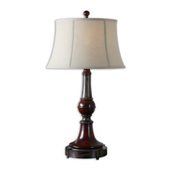 Bevin Solid Wood Table Lamp
