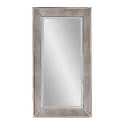 Bassett Mirror - Bassett Mirror Beaded Wall Mirror M3340BEC - Bassett Mirror Beaded Wall Mirror M3340BEC