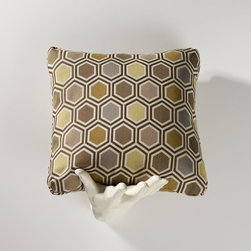 Homeware - Homeware Rattan Accent Pillows - Set of 2 - HWP011-18-106RAT - Shop for Pillows from Hayneedle.com! Bring nature's strongest shape to fortify your living space with the Homeware Rattan Accent Pillows - Set of 2. A neat geometric print in olive slate amber taupe and ivory creates a fabulous accent for the eye to rest upon. The assertive geometric composition is decidedly contemporary but the muted palette allows this pair to work as transitional pieces as well.Not available for sale in or delivery to the state of California.About HomewareHomeware is driven by an innovative spirit and a passion to change the way America buys and lives with furniture. Homeware wants to save you from shopping in a big box bringing home a smaller box and ultimately being psychologically harmed by your encounter with a slew of parts and incomprehensible assembly instructions. Instead of that Homeware supports your choice to shop in your jammies and Homeware is determined to support your success. Homeware chairs are made to live and move with you. They come to you in two pieces within two special boxes and regardless how rudimentary your handyman skills may be YOU can assemble them without tools. Within minutes they assure you you will be enjoying a chair that's as sturdy and solid as any you've beheld. The secret? It's designer and engineer Jon Koch's ingenious and revolutionary fastening device which makes possible speedy chair assembly by the mechanically uninitiated. Homeware keeps a stable of furniture savants on call 24-7 to answer your questions including but not limited to questions about their chairs and pillows and they stand behind their products with bravado.