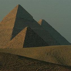 Magic Murals - Giza Pyramids Wallpaper Wall Mural - Self-Adhesive - Multiple Sizes - Magic Mura - Giza Pyramids Wall Mural
