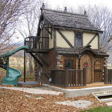 Traditional Outdoor Playsets by Fancy Builder, Inc.