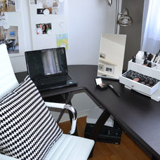 Contemporary Home Office by Emily Tait Designs