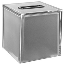 Contemporary Tissue Box Holders by TheBathOutlet