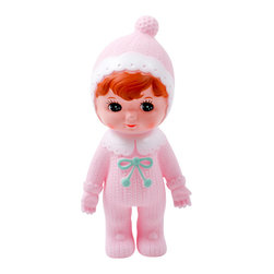 Lapin and me - Woodland doll by Lapin and me, Soft Pink - Welcome the cutest dolls on earth! Vintage look and colorful outfit, they will make a beautiful decoration or toy for your little one. Stock is limited, so hurry if you like them!