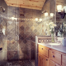 Rustic Bathroom by Maraya Interior Design