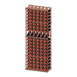 """Vinotemp Rack-6CD-PR 6 Column Premium Redwood 180 Bottle Rack w/ Display - This 6 column display rack keeps your bottles safely organized individually, as it provides an attractive and functional wine storage area for up to 108 bottles. Its cubicles (3 3/4"""") are designed to fit most 750-ml bottles. Essential in most cellar designs due to its size, the 20 degree angle of the wine display row keeps the cork moist while allowing you to easily view the label. Vinotemp never use glue to hold our racks together because it can weaken over time. This wine rack kit is hand made in our Southern California factory and crafted from Premium Redwood. It is ideal for starting or expanding any wine collection. Features: - 6 column wine rack with 1 display row (for 6 bottles) - Premium Redwood - Universal 3 3/4"""" racking fits most bottle sizes - Bottle capacity: 108 individual bottle spaces - Dimensions: 26 7/8"""" W x 12"""" D x 73 3/8"""" H"""