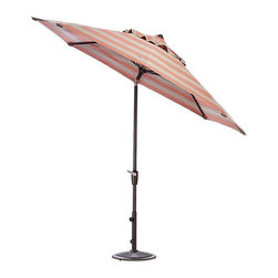 Home Decorators Collection - Home Decorators Collection Patio Umbrellas 11 ft. Auto-Tilt Patio Umbrella in - Shop for Outdoor Patio Furniture at The Home Depot. Keep your outdoor areas in the shade with our 11 ft. Auto Tilt Market Patio Umbrella. Its easy Auto Tilt design and vast fabric options will help keep your outdoors settings comfortable and stylish. Its numerous tilt positions allow you to choose the amount of shade you want by simply turning the crank handle. Our canopies come in a variety of colors to match any outdoor decor.