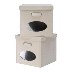 Jon Karlsson - NOSTALGISK Box with lid - Box with lid, off-white