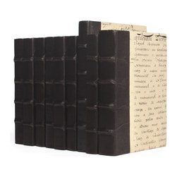 Go Home - Linear Foot of Solid Black Books - Linear Foot of Solid Black Books , place the collected written works among your library collection, upon a nightstand, or atop an occasional table in a sun room.