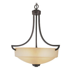 Trans Globe Lighting - Trans Globe Lighting 6186 ABZ New Century Transitional Inverted Pendant Light - Trans Globe Lighting 6186 ABZ New Century Transitional Inverted Pendant Light