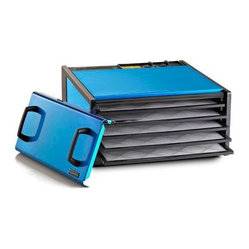 Excalibur D500RR 5 Tray Food Dehydrator with Timer - Radiant Blue