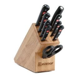 Wusthof - Wusthof Gourmet - 10 Pc. Knife Block Set - Includes: