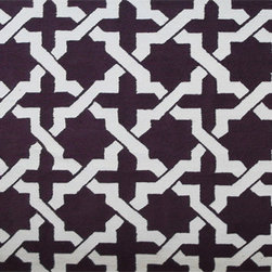 The Rug Market - ETCHY ,Area Rug ,size   7X10 - This contemporary rug is made of UV Poly and will surely add color to any space