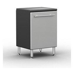 Ulti-MATE PRO - Ulti-MATE Garage PRO Model GA-02PC - · Unique Polyurethane coated cabinet fronts in Silver