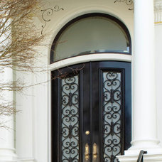 Contemporary Front Doors by shawn lovell metalworks