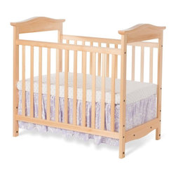 Foundations - Foundations The Princeton Clear Choice Mini Crib - 9900004 - Shop for Cribs from Hayneedle.com! Clearly the right choice Foundations The Princeton Clear Choice Mini Crib provides modern parents with peace of mind. This innovative mini crib is made of sustainably harvested wood and features shatterproof clear end panels so parents can always keep an eye on their little one. It's scaled smaller making it perfect for tight spaces or as a secondary crib. It features mortise-and-tenon construction a non-toxic finish in your choice of color and removable casters. This crib comes complete with a three-inch mattress adjustable mattress board and a generous warranty.About FoundationsFoundations is a brand focused on the absolute safety and well-being of all children and their products show it. Though used throughout the world by commercial customers Foundations products extend to use in the home as well. All Foundations products meet mandatory safety standards published by the Consumer Products Safety Commission as well as all voluntary standards published by ASTM. Additionally Foundations ensures that all their products meet the CPSC CFR 1633 Fire Standard.