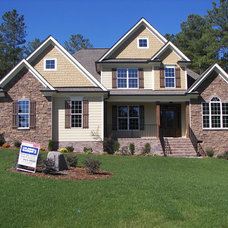 Traditional Exterior by Rachael Williams Design